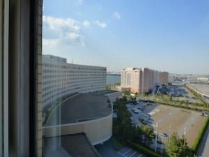 ヒルトン東京ベイ(千葉県浦安市)のセレブリオの部屋からの風景