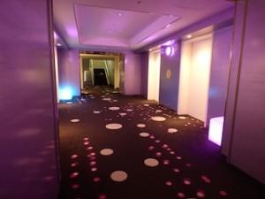 ヒルトン東京ベイ(千葉県浦安市)のエレベーターホール