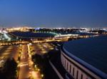 ヒルトン東京ベイ(千葉県浦安市)のセレブリオの部屋からの夜景