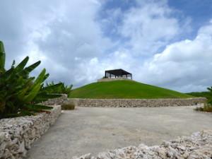 星のや竹富島の見晴台遠景