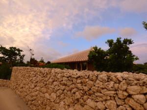 星のや竹富島の各部屋の石垣部分