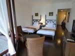 星野リゾートリゾナーレ西表島の部屋のベッドスペース