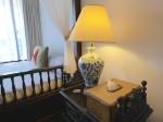星野リゾートリゾナーレ西表島の部屋のランプ