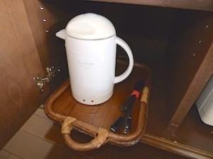 星野リゾートリゾナーレ西表島の部屋の湯沸かしポット