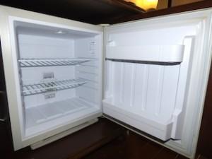 星野リゾートリゾナーレ西表島の部屋の冷蔵庫内