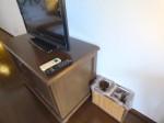 星野リゾートリゾナーレ西表島の部屋のテレビ