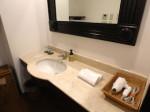 星野リゾートリゾナーレ西表島の部屋の洗面台