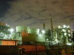 川崎市川崎区千鳥町の工場夜景