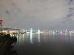 東京レインボーブリッジ有明側の夜景