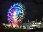 東京お台場のパレットタウン大観覧車