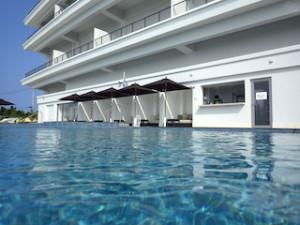 ホテルオリオンモトブリゾート&スパのインフィニティプール