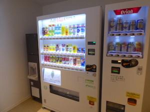 ホテルオリオンモトブリゾート&スパの自動販売機