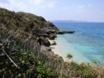 久高島の西海岸(West coast at Kudaka-jima[Kudakajima island], Okinawa-ken)