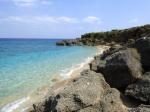 久高島の西海岸、砂浜(West coast sandy shore at Kudaka-jima[Kudakajima island], Okinawa-ken)