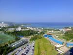 オキナワマリオットリゾート&スパの部屋からの景色(The view of the room of Marriott Resort & Spa, Okinawa-ken Japan)