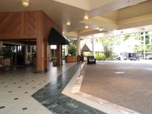 シェラトン・ミラージュポートダグラスリゾート(オーストラリア・ポートダグラス)のホテルエントランス