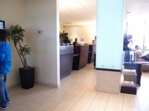 ホリデイインニューアークエアポート(アメリカニューアーク)のホテルフロント