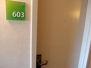 ホリデイインニューアークエアポート(アメリカニューアーク)の部屋、603号室
