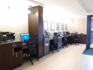 ホリデイインニューアークエアポート(アメリカニューアーク)のビジネスセンター