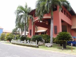 オーシャンブルー&サンド(ドミニカ共和国プンタカーナ)の玄関