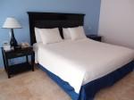 オーシャンブルー&サンド(ドミニカ共和国プンタカーナ)の部屋のベッド