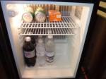 パラディサス・プンタカーナ・リゾート(ドミニカ共和国プンタカーナ)の部屋の冷蔵庫