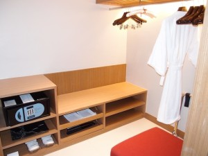 ルメリディアン・チェンマイ(タイ・チェンマイ)の部屋のクローゼットルーム