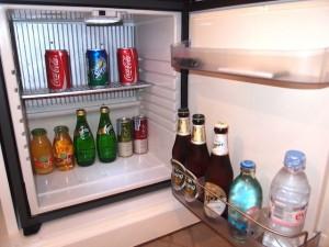 ルメリディアン・チェンマイ(タイ・チェンマイ)の部屋の冷蔵庫