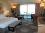 マリーナベイサンズホテル(シンガポール)の部屋全体