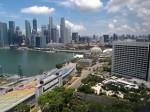ザ・リッツ・カールトンミレニアシンガポール(シンガポール)部屋から見た景色右手