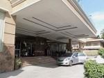 ハロルズホテル(フィリピン・セブ島)のホテル玄関