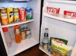 ハロルズホテル(フィリピン・セブ島)の部屋の冷蔵庫