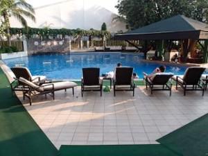マニラホテル(フィリピン・マニラ)の屋外プール