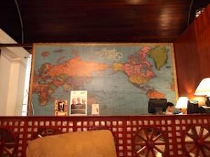 マニラホテル(フィリピン・マニラ)のロビーフロアドリンクサービス