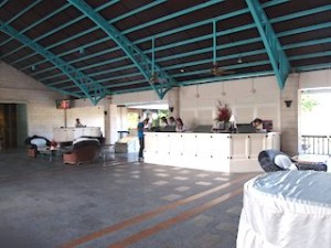 プランテーションベイリゾート&スパ(フィリピン・マクタン島)のホテルフロント