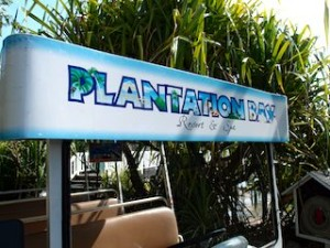 プランテーションベイリゾート&スパ(フィリピン・マクタン島)のホテル内カート