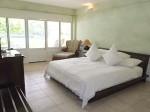 プランテーションベイリゾート&スパ(フィリピン・マクタン島)の部屋のベッド