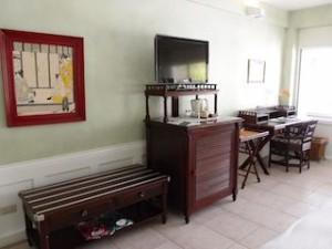 プランテーションベイリゾート&スパ(フィリピン・マクタン島)の部屋の荷物置き場など