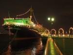 横浜氷川丸ライトアップ