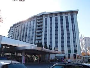 シェラトン都ホテル東京(東京都港区)の外観