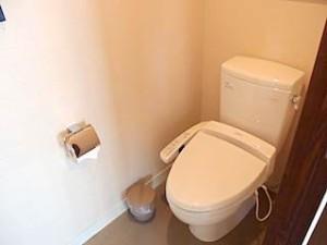 ザ・ビーチタワー沖縄のトイレ