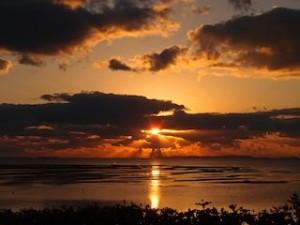 ザ・ビーチタワー沖縄のサンセット
