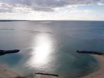ザ・ビーチタワー沖縄の部屋からの海