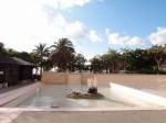 ザ・ビーチタワー沖縄のミニ動物園付近