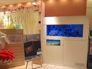 ザ・ビーチタワー沖縄のロビー付近