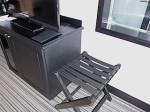 ホテルモントレ沖縄スパ&リゾートのオーシャンバスルームのテレビ