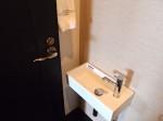 ホテルモントレ沖縄スパ&リゾートのオーシャンバスルームのトイレ横洗面台