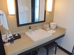 ホテルモントレ沖縄スパ&リゾートの洗面台