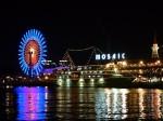 神戸港、モザイクの夜景