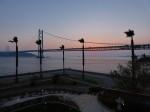明石海峡大橋のサンセット、ホテルセトレから